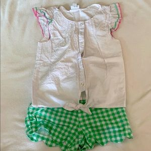 Crown & Ivy girls outfit